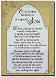 Grave Card - Christmas Memories of a Special Son - Free Card Holder - CMX07