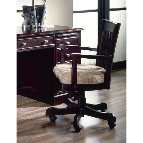Riverside Urban Crossings Bankers Desk Chair - Espresso