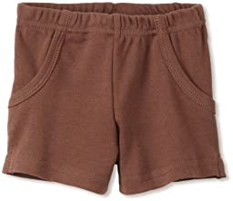 L\'ovedbaby Unisex-baby Newborn Short, Out-on-the-town Brown, 0-6 Months