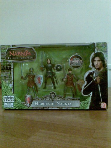 Buy Low Price Jakks Pacific Chronicles of Narnia Prince Caspian Basic Figure 3-Pack Heroes of Narnia (B0019HGZDE)
