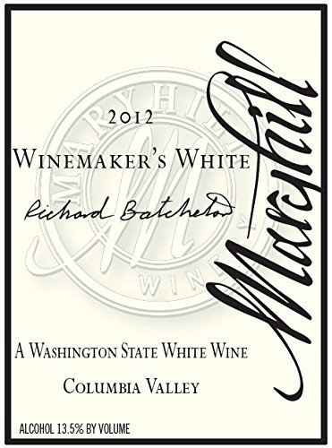 2012 Maryhill Winery Winemakers White 750 Ml