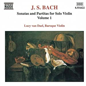 Bachsonatas And Partitas For Solo Violin Vol 1 by Naxos
