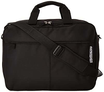 American Tourister Hand Luggage AT Toulouse 2.0 3-Way Shoulder Bag 27 Liters, Black 55931/1041 from American Tourister