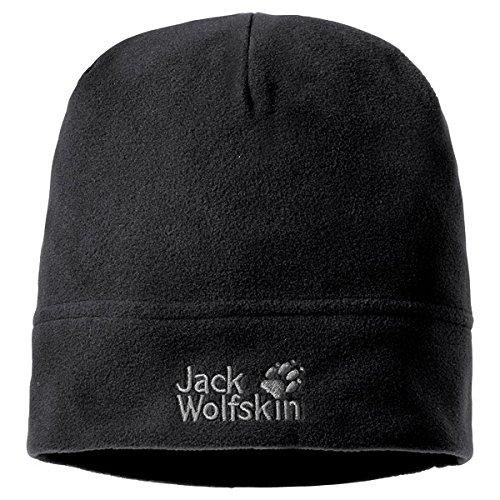Jack Wolfskin Berretto Real Stuff, Nero (Black), Taglia unica