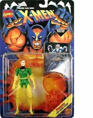 "X-Men The Phoenix Saga Light-Up PHOENIX 5"" Action Figure (1994 ToyBiz)"