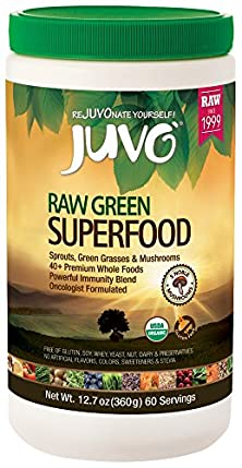 buy Juvo Raw Green Superfood, 12.7 Ounce