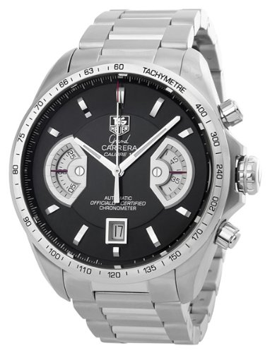 TAG Heuer Men's CAV511A.BA0902 Grand Carrera Chronograph Calibre 17 RS Watch