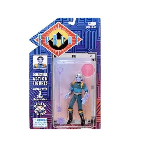 Reboot Series 1 Bob Action Figure - 1