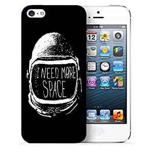 Snoogg I Need More Space Designer Protective Back Case Cover For IPHONE 5