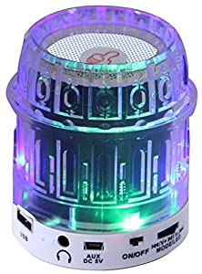 buy Qfx Cs-244Bl Portable Multimedia Speaker With Usb/Micro-Sd Port- Retail Packaging - Blue