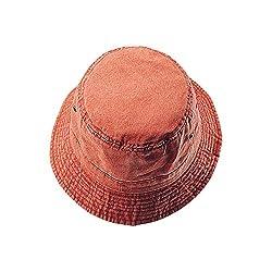 Washed Hats-Orange W12S41E