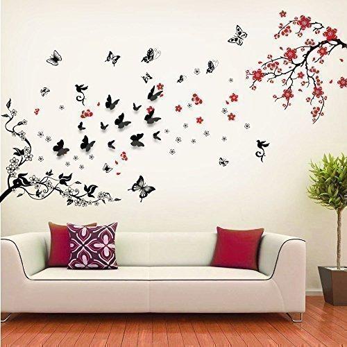 Walplus sticker da parete con fiori denti di leone for Stencil da parete