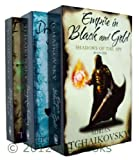 Adrian Tchaikovsky Adrian Tchaikovsky Shadows of the Apt Series - 3 books Numbers 1 , 2, 3, Empire in Black and Gold / Dragonfly Falling / Blood of the Mantis rrp £23.97