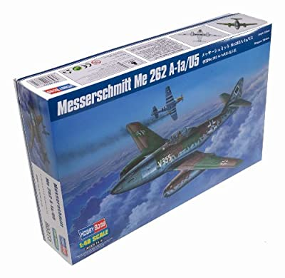 Hobby Boss Messerschmitt Me 262A-1a/U5 Airplane Model Building Kit