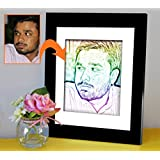 Father's Day | Father's Day Gift | Birthday Gift For Parents | Photo Frame(11x9)inch With Personalized Photo(7x5...