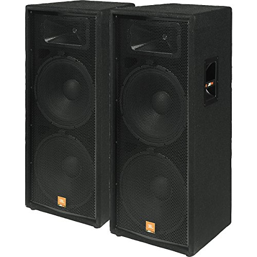 "Jbl Jrx125 Dual 15"" 2-Way Speaker Cabinet Pair"