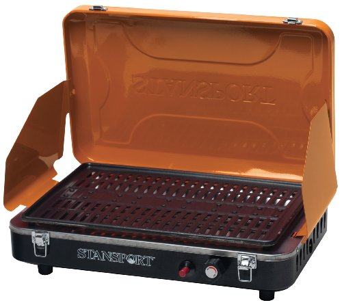 Stansport Deluxe Propane Grill Stove, Mango