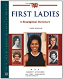 img - for First Ladies: A Biographical Dictionary (Political Biographies) book / textbook / text book