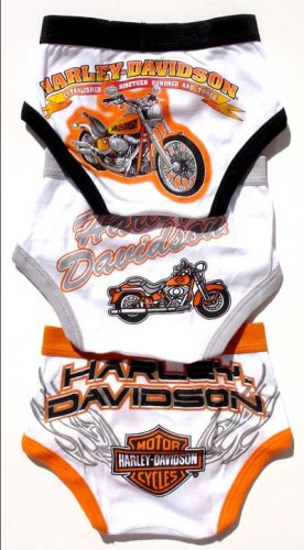 Harley Toddler Boy's 3 Pair Briefs, Available in Multiple Sizes - Buy Harley Toddler Boy's 3 Pair Briefs, Available in Multiple Sizes - Purchase Harley Toddler Boy's 3 Pair Briefs, Available in Multiple Sizes (Harley-Davidson, Harley-Davidson Underwear, Harley-Davidson Boys Underwear, Apparel, Departments, Kids & Baby, Boys, Underwear, Boys Underwear)