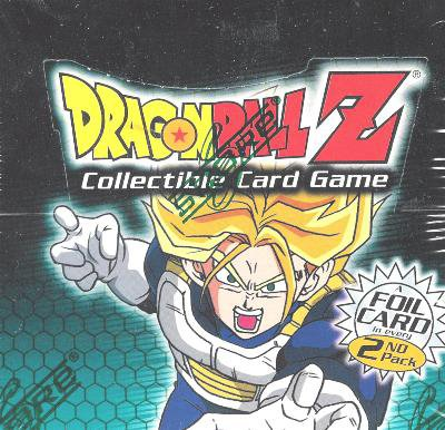 Dragonball Z Score Trading Card Game Cell Saga Booster Pack 10 Cards - 1