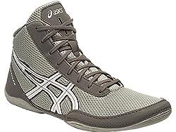 Asics Mens Metflex - 5 Light Grey, White and Black Wrestling Shoes - 9 UK/India (44 EU)(10 US)
