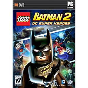 LEGO Batman 2 DC Super Heroes PC Video Game