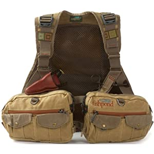 Fishpond Vaquero Waxed Canvas Vest by FishPond