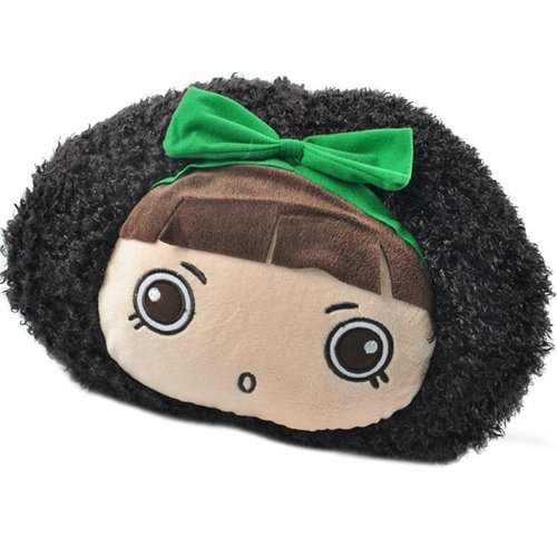 38 X 25 X 15Cm Green Bow Mocmoc Toys Plush Hand Warmer Personalized Gifts front-850118