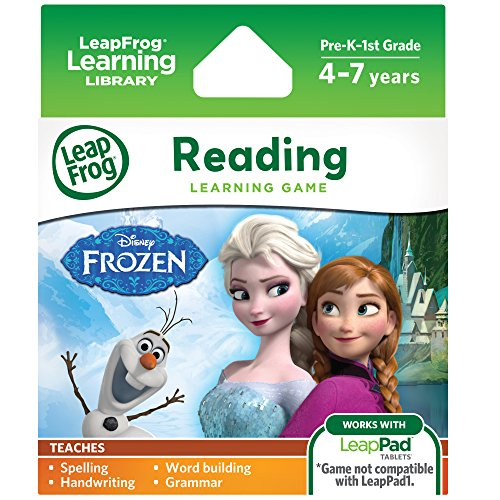 LeapFrog Disney Frozen Learning Game (for LeapFrog Epic, LeapPad Platinum, LeapPad Ultra, LeapPad2, LeapPad3) (Leap Pad Games compare prices)