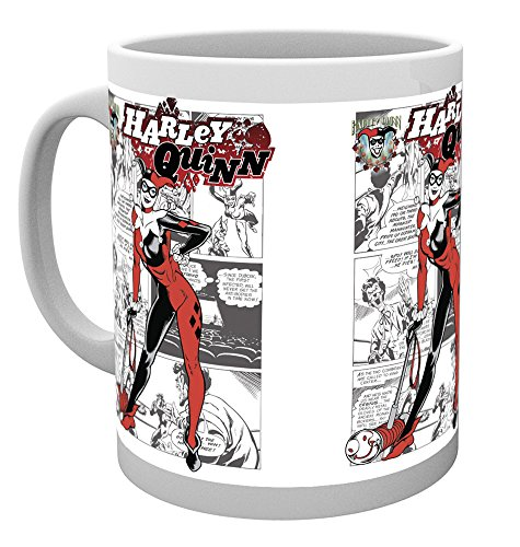GB eye, DC Comics, Batman Comics, Harley Quinn Comic, Tazza