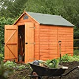 Rowlinsons Security Shed 8x6