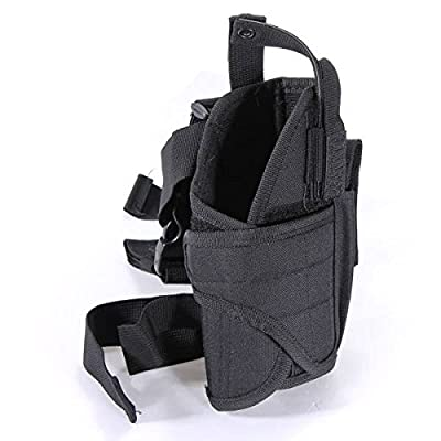 CAMTOA Adjustable Right Handed Leg Holster Tactical Waterproof Pistol Gun Drop Leg Thigh Holster Pouch Holder