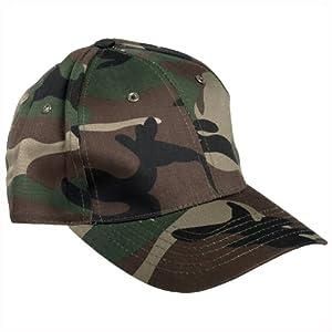 Mil-Tec Casquette camouflage de chasse/pêche