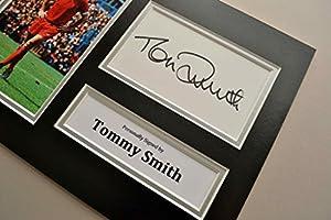 Tommy Smith Signed A4 Photo Display Genuine Liverpool Autograph Memorabilia +COA by Up North Memorabilia