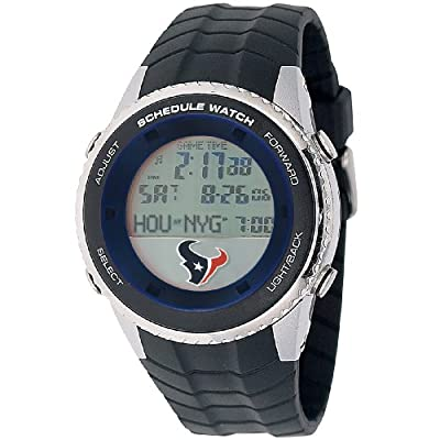 "Game Time Men's NFL-SW-HOU ""Schedule"" Watch - Houston Texans"