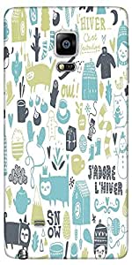Snoogg Lifestyle Pattern 2562 Designer Protective Back Case Cover For Samsung...