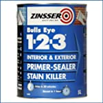 Zinsser Bulls Eye 1-2-3 Primer Sealer...