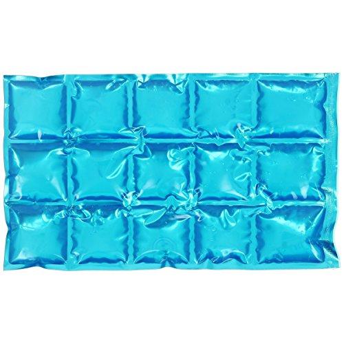 Promobo -Pain De Glace Souple Glaçon Bloc Fraicheur Flexible Pour Glacière Bosse 15 Cubes Bleu