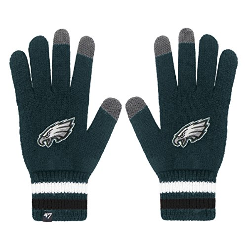 nfl-philadelphia-eagles-47-jumble-gloves-one-size-pacific-green