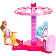 Barbie Sisters Twirl & Spin Ride Play Set