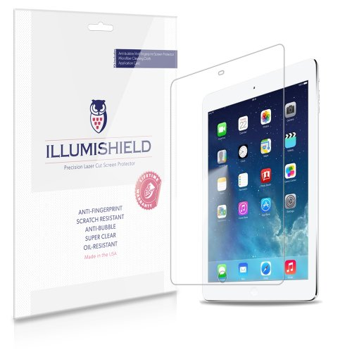 Illumishield - Apple Ipad Air 5Th Gen Screen Protector Japanese Ultra Clear Hd Film With Anti-Bubble And Anti-Fingerprint - High Quality (Invisible) Lcd Shield - Lifetime Replacement Warranty - [2-Pack] Oem / Retail Packaging