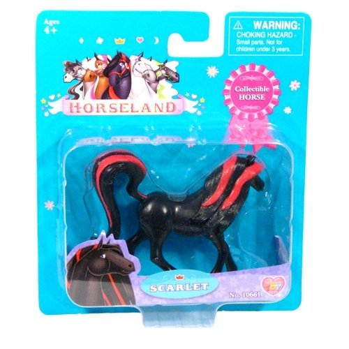 Amazon.com: New Horseland Scarlet 3 inch Figure Toy Horse