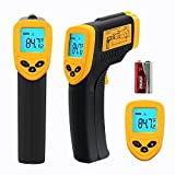 Etekcity® Non-Contact Infrared (IR) Thermometer ETC-8380 U.S. FDA/FCC/CE Approved; -58~716°F/-50~380°C Instant-read Digital Temperature Gun w/ Laser Sight, Backlit LCD, Battery included