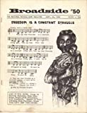img - for Broadside Topical Song Magazine #50 Sept 22, 1964 book / textbook / text book