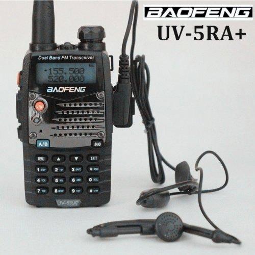 AGPTek® BF-UV-5RA+Plus 136-174/400-520MHZ Dual Band bidirectionnel de poche talkie walkie Radio