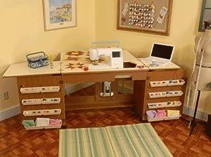Sewing Machine Cabinet Bertha Oak Kitchen Home