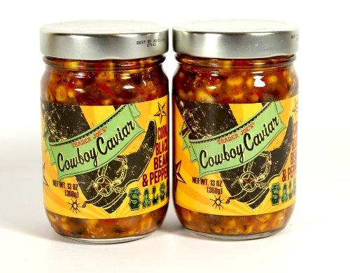 Trader Joe's Cowboy Salsa - Corn, Black Bean & Pepper Salsa - 2 Pack (Trader Joes Corn Salsa compare prices)
