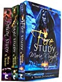 Study Trilogy 3 Books Collection Set Maria V Snyder (Study Trilogy) (Yelensa ...