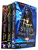 Maria V Snyder Study Trilogy 3 Books Collection Set Maria V Snyder (Study Trilogy) (Yelensa Zaltana Novel) (MIRA) (Poison Study, Fire Study, Magic Study)