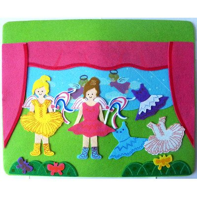 Sassafras Two Little Ballerinas Play Set